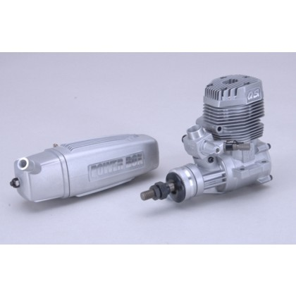 OS Engine MAX 75AX w/E-4040 Silencer L-OS17400