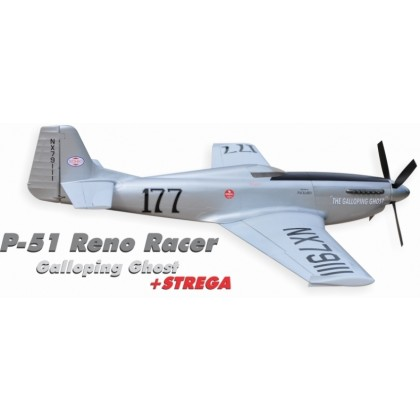 P-51 Reno Racer Galloping Ghost + STREGA from CARF Models