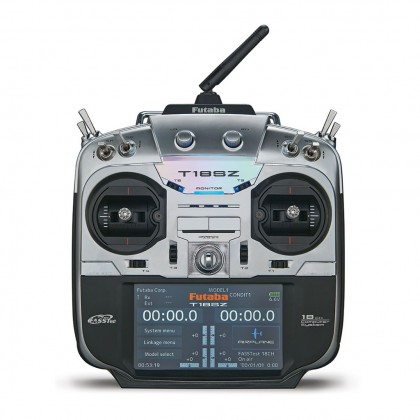 Futaba T18SZ - 18 Channel 2.4GHz Radio Transmitter & R7008SB Receiver (Mode 2)