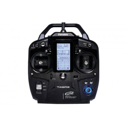 Futaba T4GRS 2.4GHz T-FHSS 4-Channel Combo Including R304SB With Telemetry