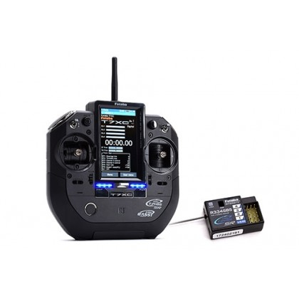 Futaba T7XC 7-Channel 2.4GHz Transmitter Combo including R334SBS Rx P-CB7XC