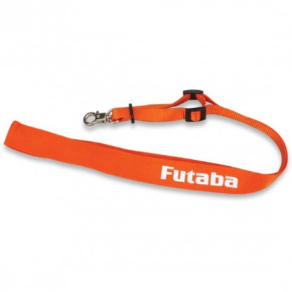 Futaba Neck Strap - Orange & White - T12Z T12FG T14MZ T18MZ D70014 4513886303531