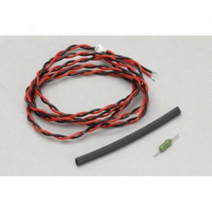 Futaba FASSTest External Voltage Lead (R3008SB R7008SB R7014SB) CA-RVIN-700 EBB0141