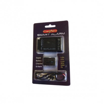 Smart Alarm Lithium Battery Checker & Alarm FS-BC06