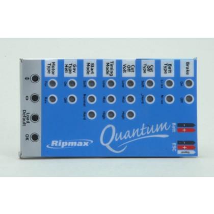 Ripmax Quantum II ESC Program Card P-QPCD