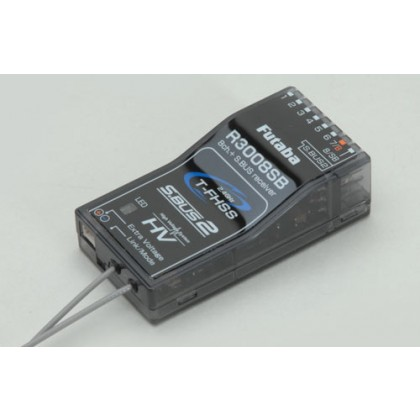 Futaba R3008SB 8 Channel Receiver T-FHSS (S-Bus) (HV) 2.4GHz