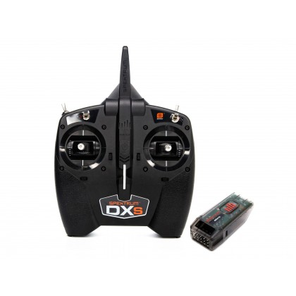 Spektrum DXS Transmitter with AR410 Receiver SPM1010