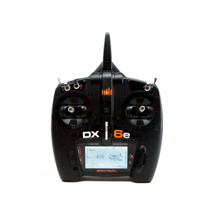 Spektrum DX6e 6 Channel Transmitter Only SPMR6655EU