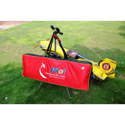 Pilot RC Wing Bag For Pitts Challenger Red/Black PIL590