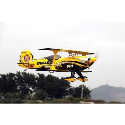 "Pilot RC Pitts Challenger 60cc 73"" (03) Bulldog PIL595"