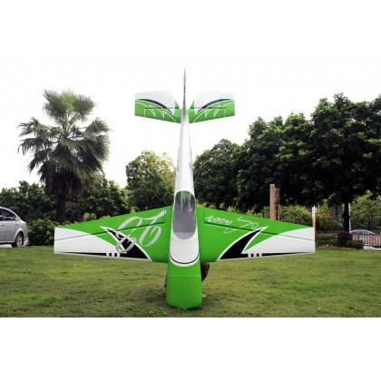 "Pilot RC Laser 88"" CF Version Green/Black/White PIL621"