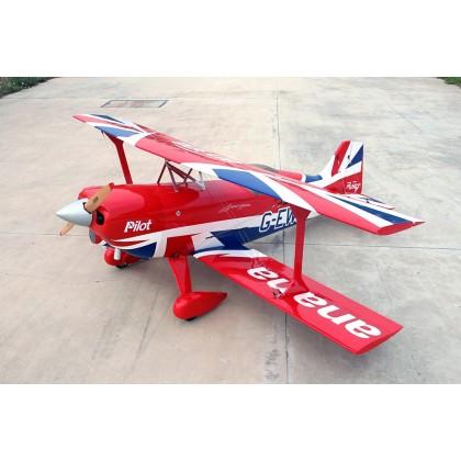 """Pilot RC Pitts Challenger 150-220cc 106"""" (03) PIL617"""