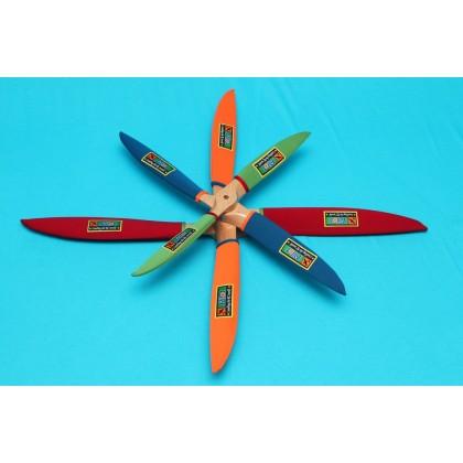 """Pilot-RC Prop Cover (Medium) - 21 - 24"""" (Orange) PIL378"""