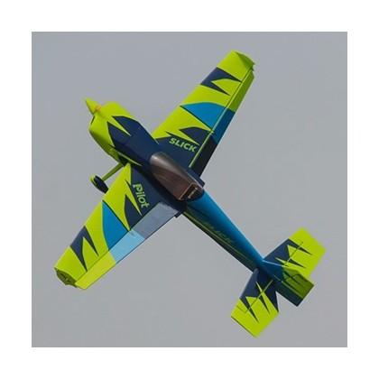 Pilot-RC Slick 84in Wingspan Blue/Green 02 PIL668
