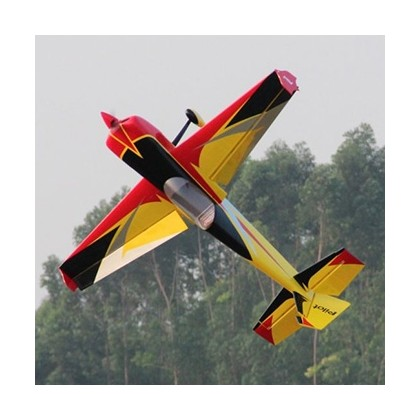 Pilot-RC Slick 84in Wingspan Red/Yellow/Black 01 PIL667