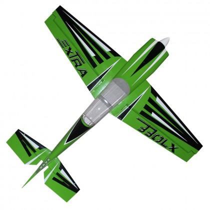 """Pilot RC Extra-330LX 78"""" Green (CF VERS) LX-09 PIL646"""