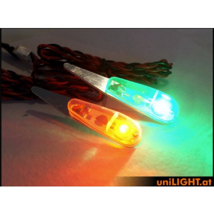 UniLight 4W Navigation Light 11mm SHORT in RED PRO11X-040-RT