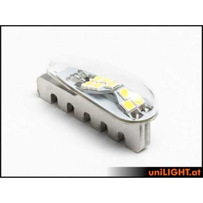 UniLight 12mm PRO StrobeLight, 15Wx2, Short