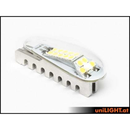 Unilight 14mm PRO Strobe Light 26Wx2 SHORT White PRO14X-260x2-WE