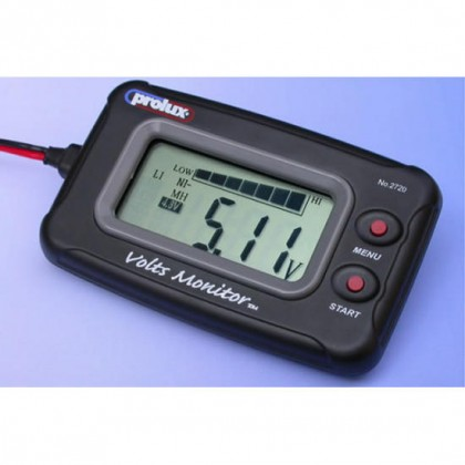 Prolux DC 3.7-20V LCD Voltmeter PX2720