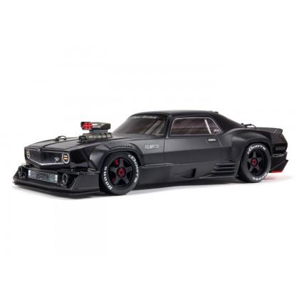 rrArrma Felony 1/7 6S BLX Resto-mod Muscle Car Black ARA7617V2T1