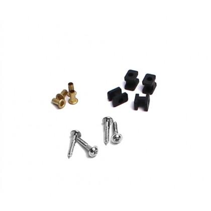 Rubber Mounting Set for Standard Size Servos SP-01