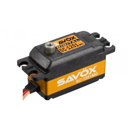 Savox Digital Low Profile Servo 9.0KG@6V SC-1251MG