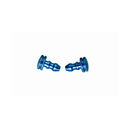 Secraft Fuel Line Plugs (Blue) SEC075