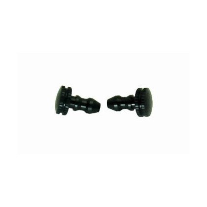 Secraft Fuel Line Plugs (Black) SEC077
