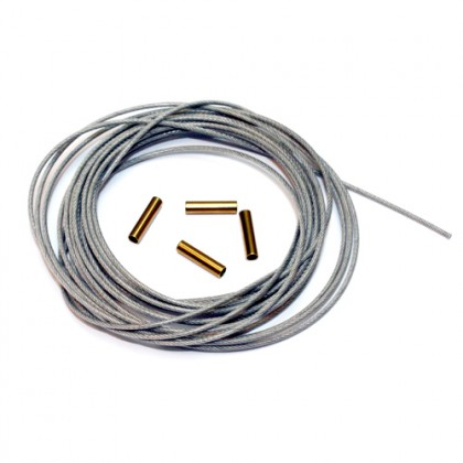 Secraft Pull Pull Wire 1.0 (Silver) SEC080