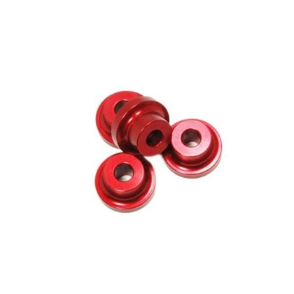 Secraft Stand Off - 10mm (5mm, 10-24 Hole) (Red) SEC083 Stand Off Gas Engine Mount 10mm Bolt Hole Size Dia 4 per package
