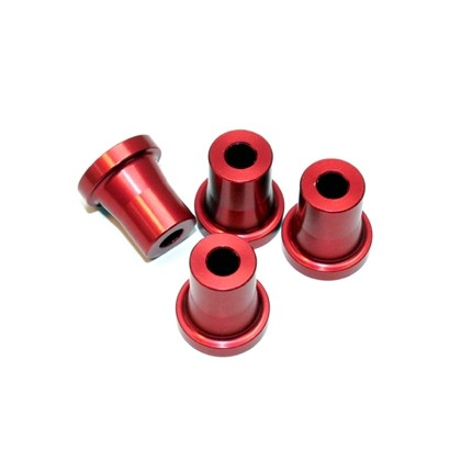 Secraft Stand Off - 20mm (5mm, 10-24 Hole) (Red) SEC085