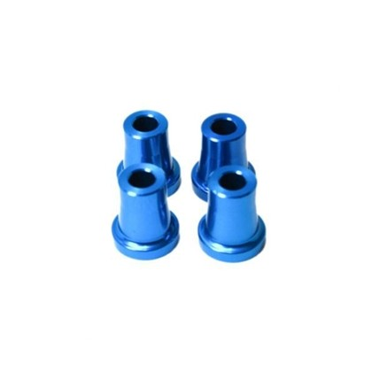 """Secraft Stand Off - 20mm (6mm, 1/4"""" Hole) (Blue) SEC094 Stand Off Gas Engine Mount 20mm Hole: 1/4-20 and M6 Bolt 4 per package"""