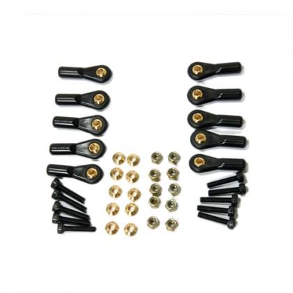 Secraft BS Ball Links 4-40 V1 (10) - Brass SEC163