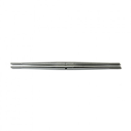 Secraft Aluminium Turnbuckle Pushrod 34mm (M3) Silver SEC291