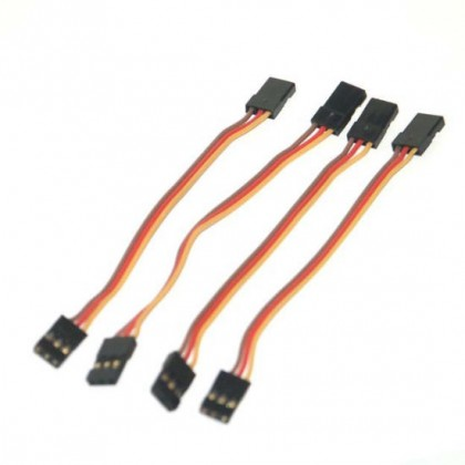 JR Male-Male Servo Patch Lead ideal for Gyro's 100mm