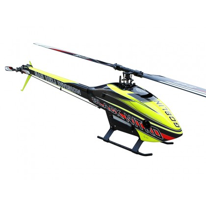SAB Goblin Black Nitro 650 Yellow/Carbon (With Thunderbolt Main And Tail Blades) SG651