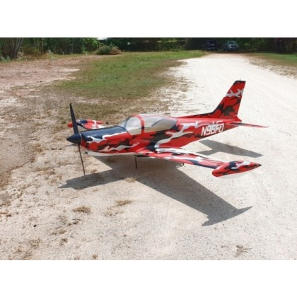 SIAI Marchetti SF-260 1:2.9 from CARF Red Camouflage Scheme 107000