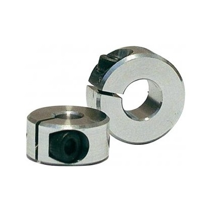 Slotted Aluminum Collars 6mm 5 pieces X0320