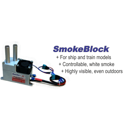 Smoke EL SmokeBlock Ideal for Ships & Trains