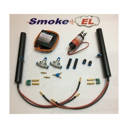 Smoke EL G-Force Duo Electric 12S - 14S Twin Smoke Generating System Idea For Wing Tip Fitment