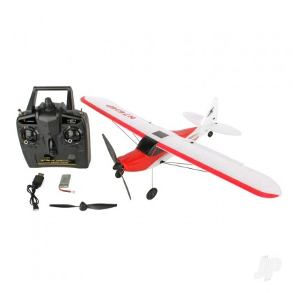 Sonik RC Sport Cub 500 RTF 4-Channel Trainer with Flight Stabilisation SNK761-4