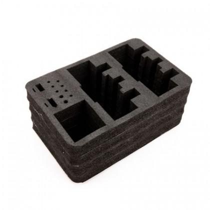 Spektrum Stand Up Transmitter Case Optional Dual Transmitter Foam Insert Set SPM6712