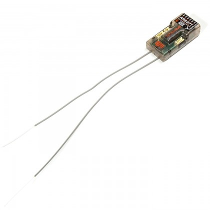 Spektrum AR637T 6-Channel Air AS3X Telemetry Receiver (SPMAR637T)