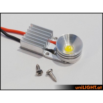 UniLight 8W x 2 Gears Spotlight 16mm White