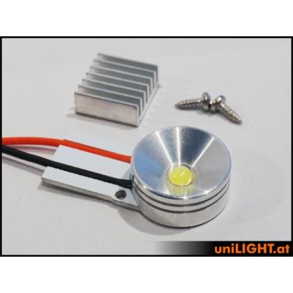 UniLight 8W x 2 Gears Spotlight UltraPower 20mm White