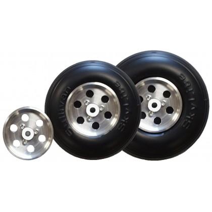 "Sullivan 3.5"" Skylite Wheel with Aluminum Hub S851"
