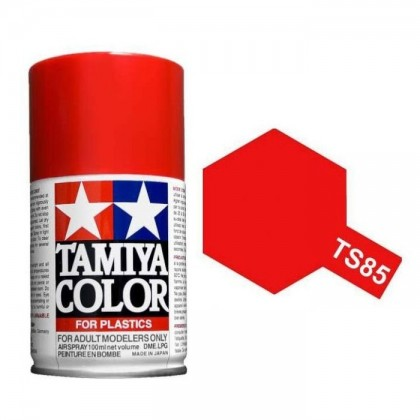 Tamiya TS-85 Bright Mica Red Spray Paint 85019