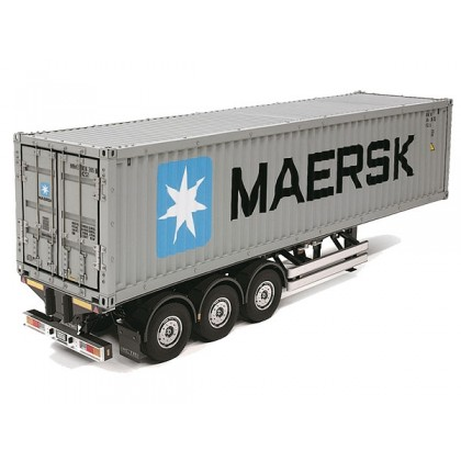 Tamiya 3 Axle Container Trailer Maersk Kit 56326