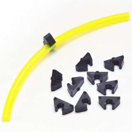 Tidy Clips 6mm or 0.25 inch Tygon (Pack of 8) from Model Aviation Products (MAP)